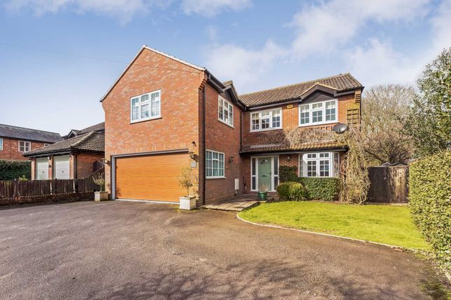 Thumbnail Detached house for sale in Leighton Road, Wingrave, Aylesbury
