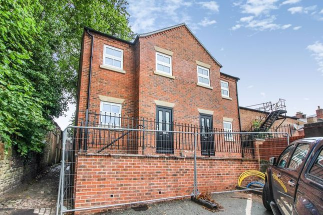 Thumbnail Semi-detached house for sale in Market Place, Leek, Staffordshire