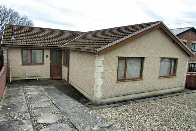 Thumbnail Detached bungalow for sale in Bryncatwg, Cadoxton, Neath, West Glamorgan