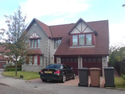 Thumbnail Detached house to rent in Macaulay Gardens, Aberdeen