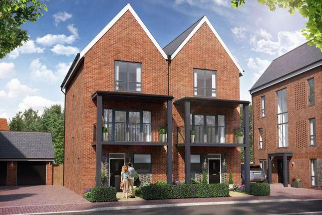 Thumbnail Semi-detached house for sale in Chilmington Gate, Chilmington Avenue, Ashford