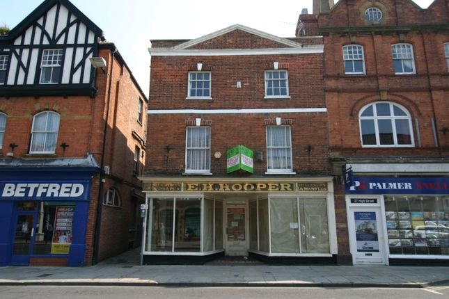 Thumbnail Retail premises for sale in High Street, Bridgwater