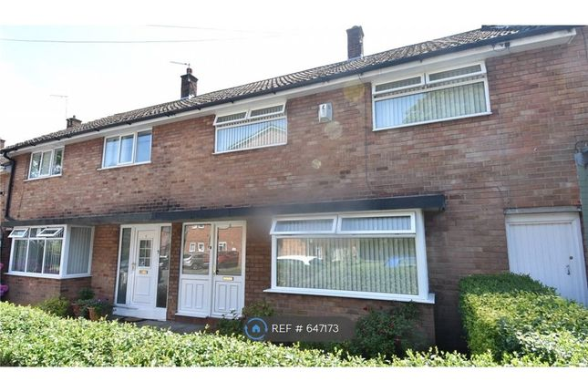 Thumbnail 4 bed terraced house to rent in Torrington Gardens, Wirral