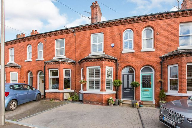 Thumbnail Terraced house for sale in The Crescent, Northwich, Cheshire