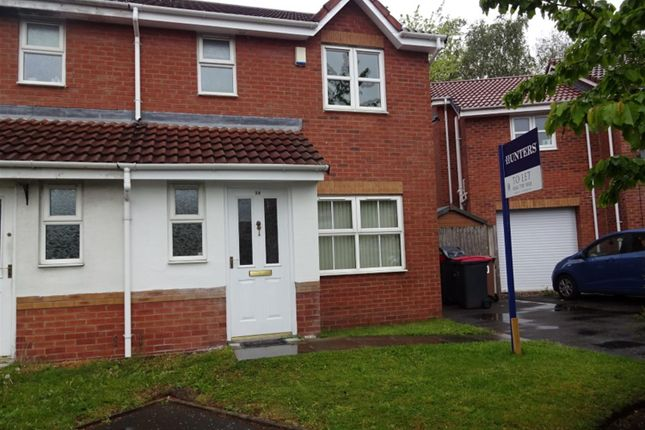 Thumbnail Semi-detached house to rent in Henty Close, Eccles, Manchester