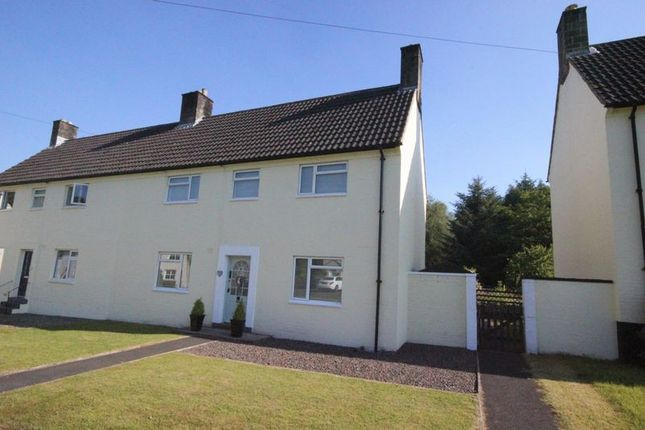 Thumbnail Semi-detached house for sale in Castle Drive, Kielder, Hexham