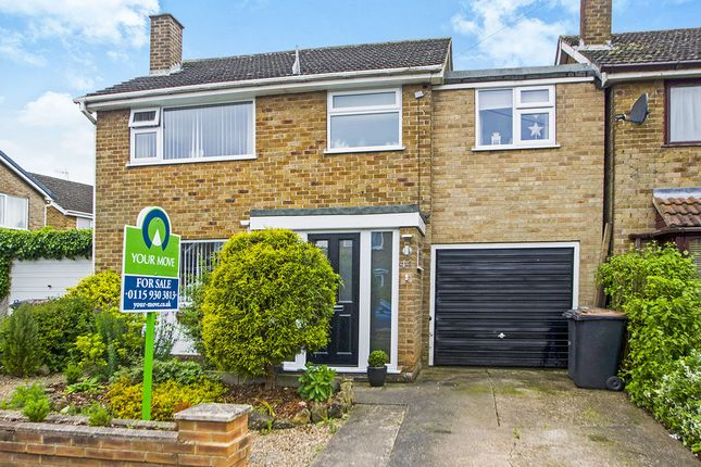 Thumbnail Detached house for sale in Tulip Road, Awsworth, Nottingham