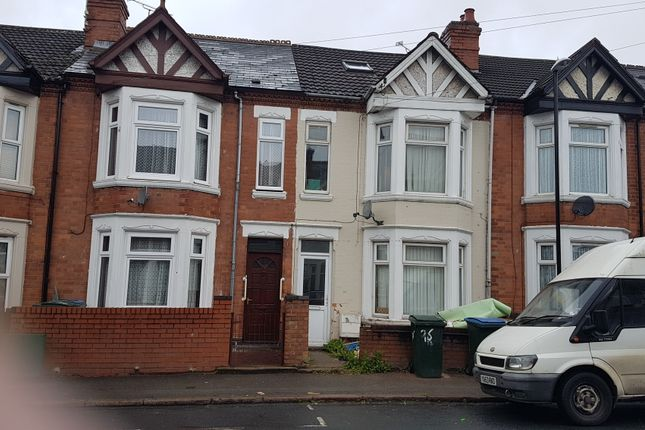 Thumbnail Terraced house to rent in Kingsway Room2, Coventry