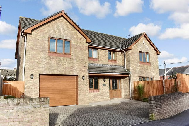 Thumbnail Detached house for sale in The Beeches Caroline Avenue, North Cornelly, Bridgend.