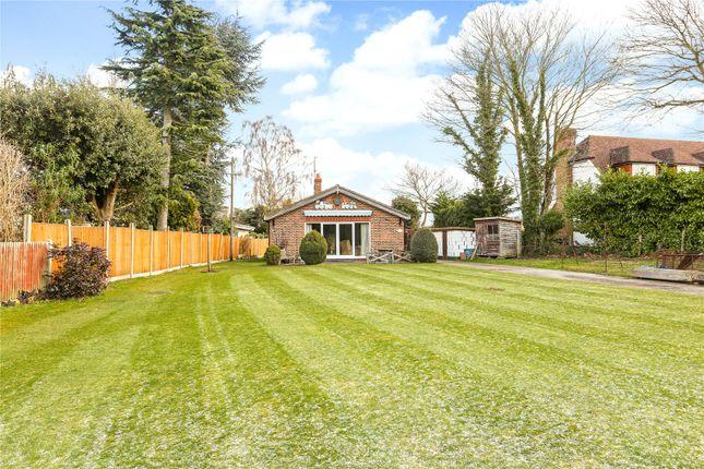 Thumbnail Detached bungalow for sale in Hamm Court, Weybridge, Surrey