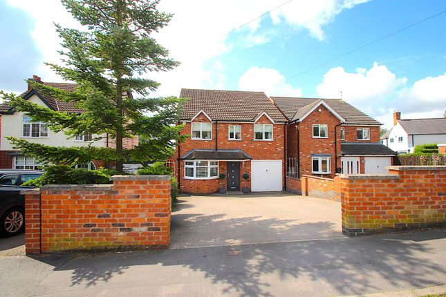 Thumbnail Detached house for sale in Stamford Street, Ratby, Leicester