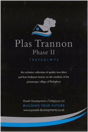 Thumbnail Terraced house for sale in Plas Trannon Phase II, Trefeglwys, Caersws, Powys