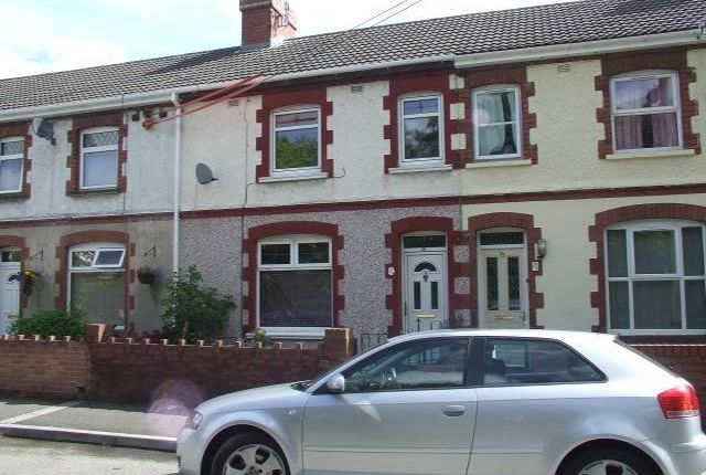 Thumbnail Terraced house to rent in Grove Road, Risca, Newport
