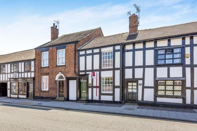 Thumbnail Terraced house for sale in Welsh Row, Nantwich, Cheshire