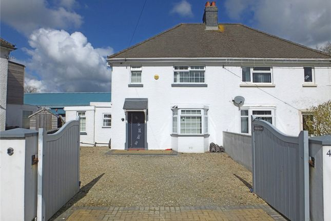 Thumbnail Semi-detached house for sale in The Crescent, Narberth, Pembrokeshire