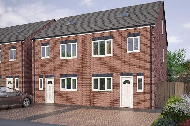 Thumbnail Town house for sale in Marjorie Street, Cramlington