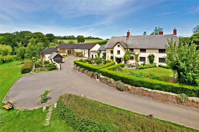 Thumbnail Detached house for sale in Yeoford, Crediton, Devon