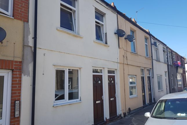 Exterior of Carlisle Street, Splott, Cardiff CF24