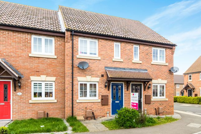 Thumbnail Terraced house for sale in Kings Manor, Coningsby, Lincoln