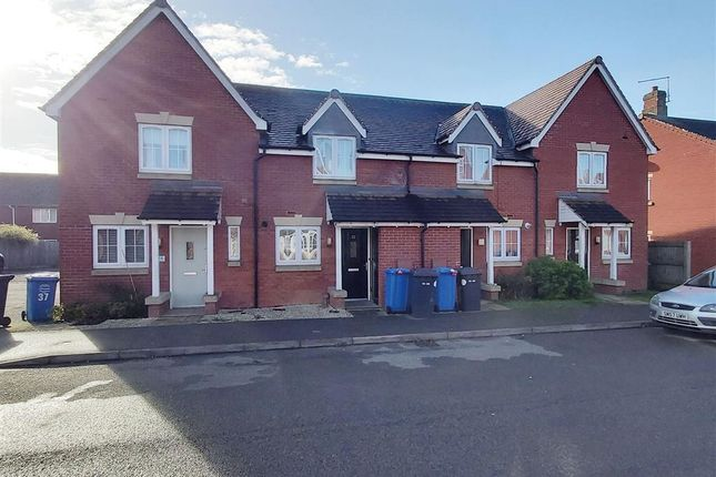 Thumbnail Terraced house for sale in Buttercup Road, Desborough, Kettering