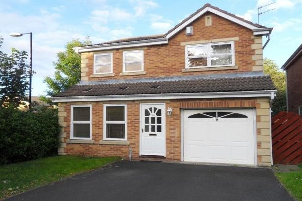 Thumbnail Detached house to rent in Princes Meadow, Gosforth, Newcastle Upon Tyne