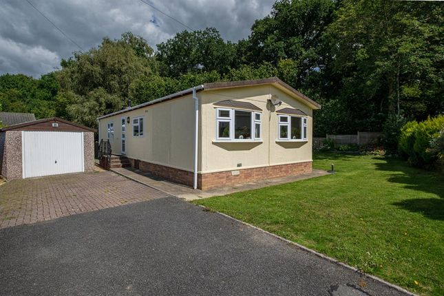2 bed mobile/park home for sale in The Glade, Caerwnon Park, Builth Wells LD2