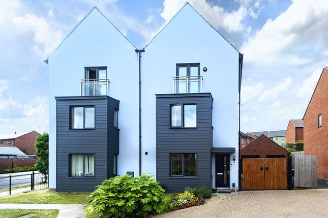 Thumbnail Semi-detached house for sale in Barclay Fold, Lawley, Telford, Shropshire.
