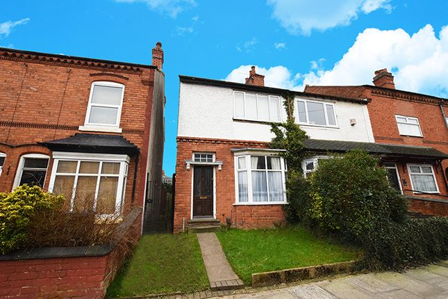 Thumbnail End terrace house to rent in Maas Road, Northfield, Birmingham, West Midlands