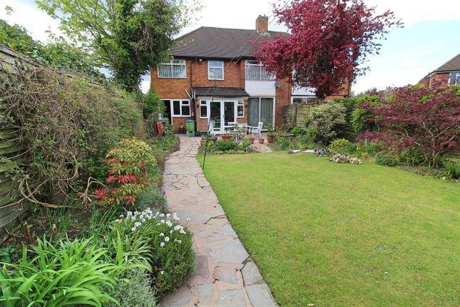 Thumbnail Semi-detached house for sale in Bentley Road, Castle Bromwich, Birmingham