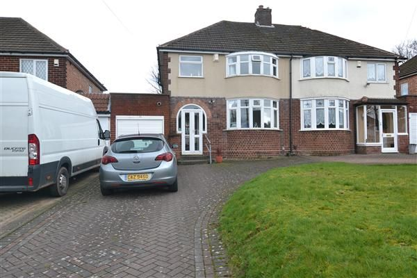 Thumbnail Semi-detached house to rent in Kingswood Drive, Sutton Coldfield
