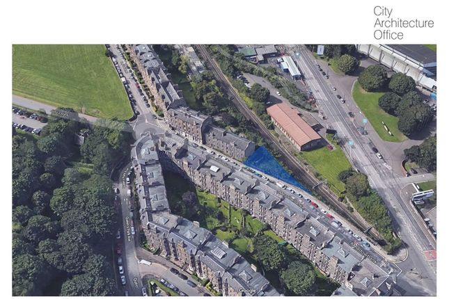 Thumbnail Land for sale in Meadowbank Terrace, Edinburgh