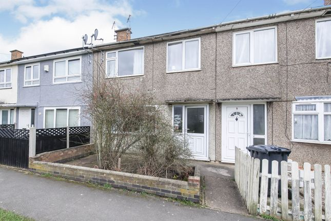3 bed terraced house for sale in Dupont Close, Glenfield, Leicester LE3