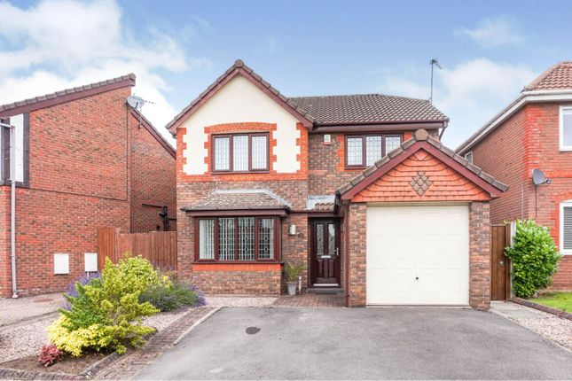 Thumbnail Detached house for sale in Upton Grange, Widnes