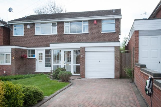Thumbnail Semi-detached house for sale in Bickley Avenue, Four Oaks, Sutton Coldfield