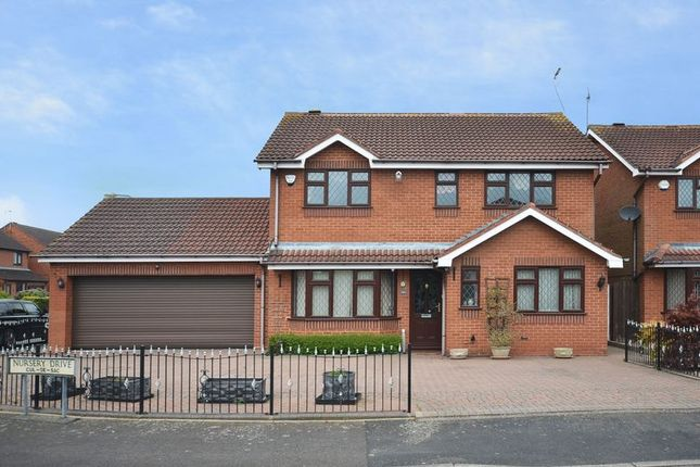 Thumbnail Detached house for sale in Nursery Drive, Penkridge, Staffordshire