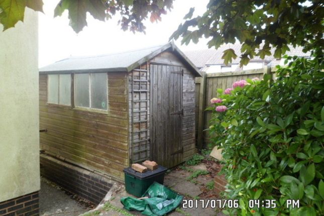 Garden Shed  of Franklea Close, Ottery St. Mary EX11