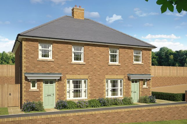 "Thumbnail 3 bed semi-detached house for sale in ""Hanover"" at James Whatman Way, Maidstone"