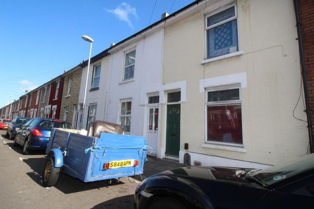 Thumbnail Terraced house to rent in Percy Road, Southsea