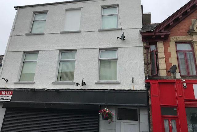 Thumbnail Flat to rent in 144 High Street, Merthyr Tydfil