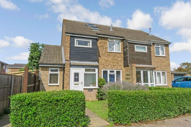 Thumbnail Semi-detached house for sale in Franklin Road, Biggleswade