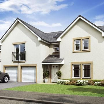 Thumbnail 5 bedroom detached house for sale in Kessington Gate, Off Inveroran Drive, Bearsden