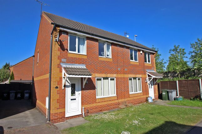 Thumbnail Semi-detached house for sale in Nether Pasture, Netherfield, Nottingham