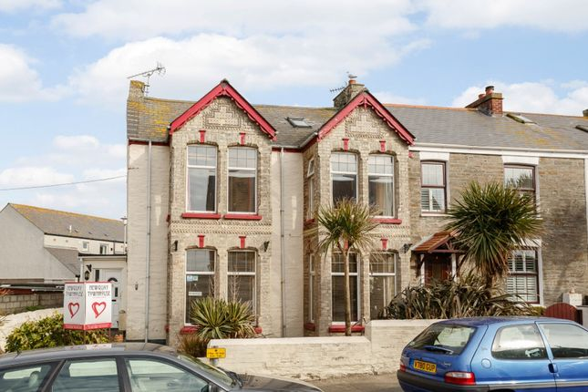 Thumbnail End terrace house for sale in Tower Road, Newquay, Cornwall