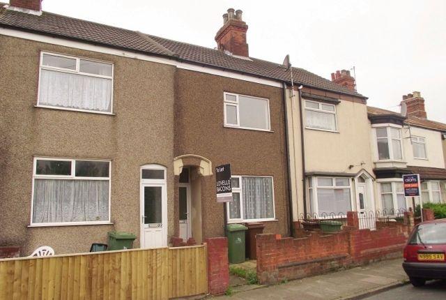 Thumbnail Terraced house to rent in Harrington Street, Cleethorpes