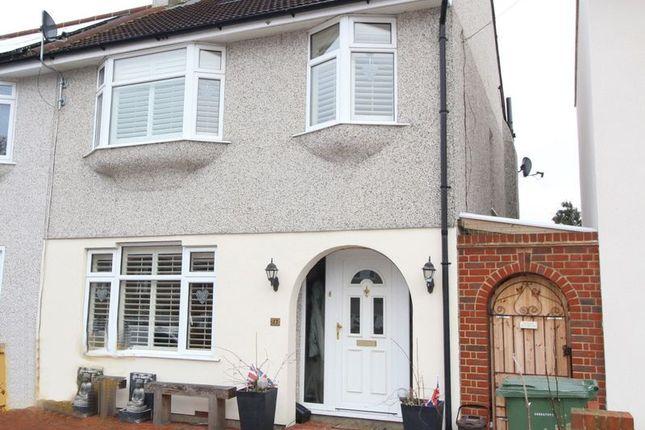 Thumbnail Semi-detached house for sale in Hurlingham Road, Bexleyheath
