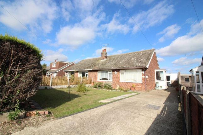 Thumbnail Semi-detached bungalow for sale in Heather Avenue, Scratby, Great Yarmouth