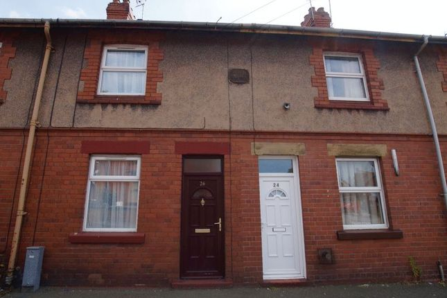 Thumbnail Terraced house for sale in Prices Lane, Rhosddu, Wrexham