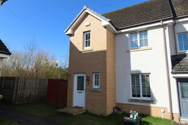 Thumbnail End terrace house to rent in Canalside Drive, Reddingmuirhead, Falkirk