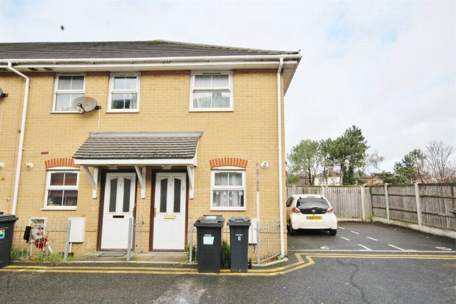 Thumbnail End terrace house to rent in Hannington Grove, Bournemouth, Dorset