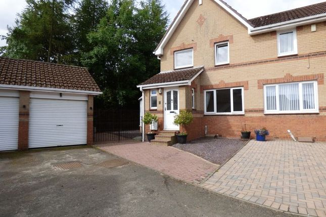 3 bed detached house for sale in 3 Bed Extended Semi Detached Home, Butlers Place, Livingston